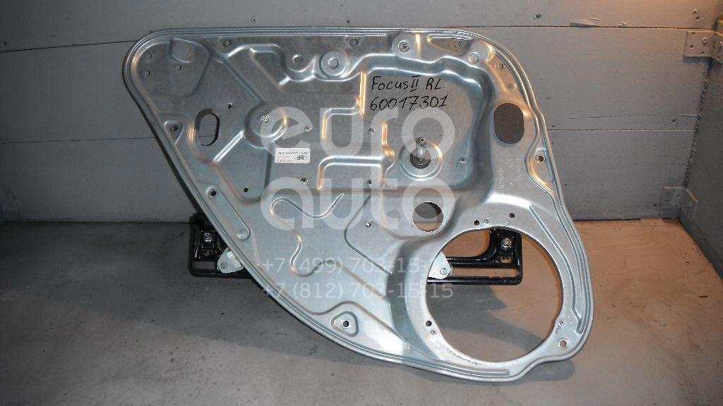 Стеклоподъемник механ. задний левый для Ford Focus II 2008-2011;Focus II 2005-2008;C-MAX 2003-2011 - Фото №1