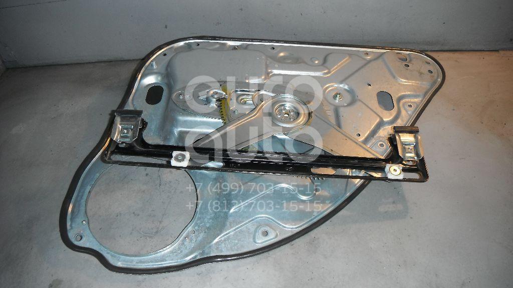 Стеклоподъемник механ. задний левый для Ford Focus II 2008-2011;Focus II 2005-2008;C-MAX 2003-2010 - Фото №1