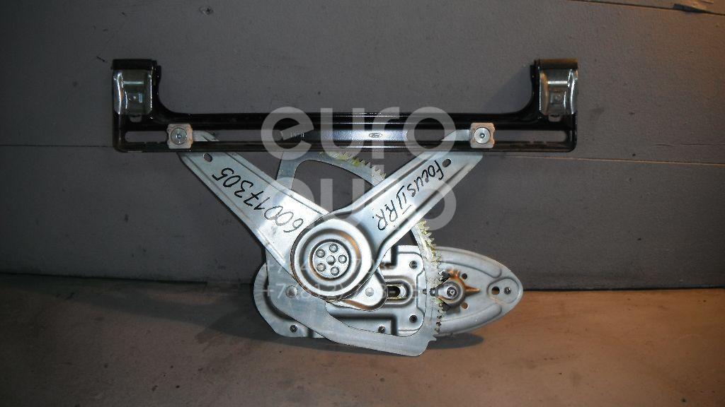 Стеклоподъемник механ. задний правый для Ford Focus II 2008-2011;Focus II 2005-2008;C-MAX 2003-2011 - Фото №1