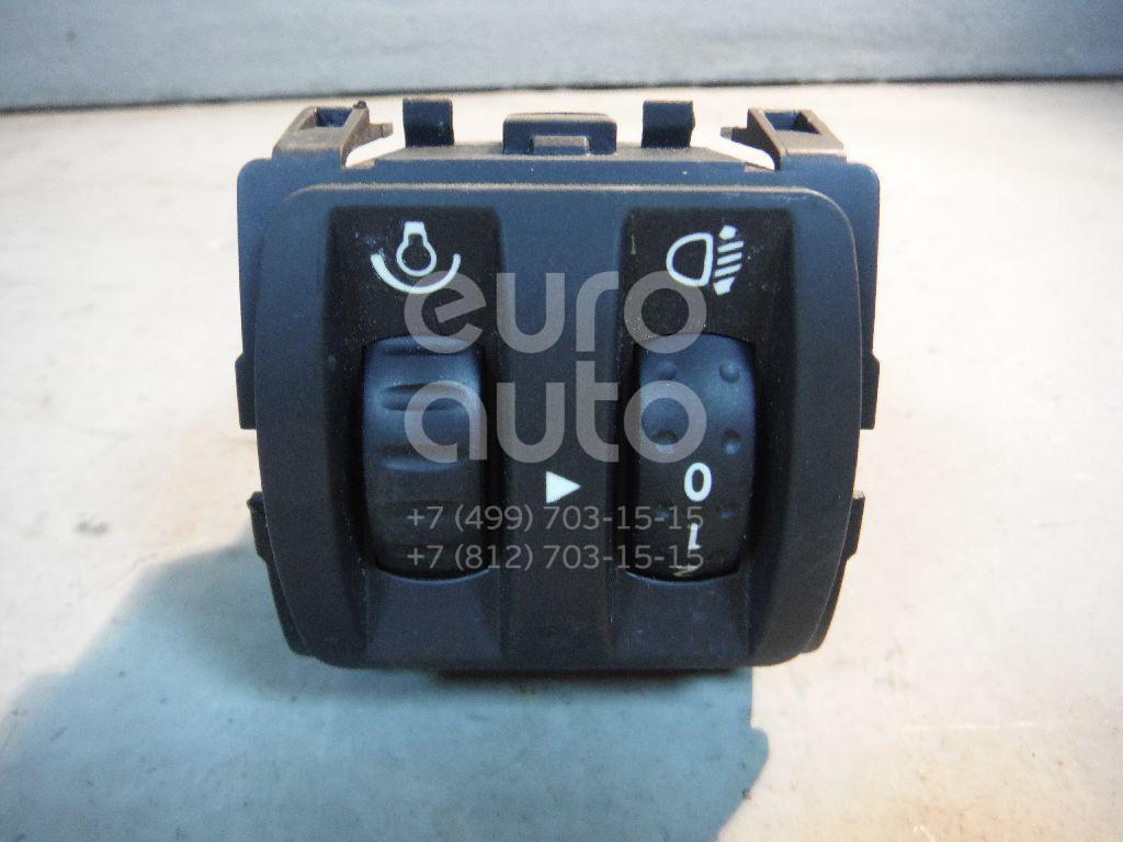 Кнопка корректора фар для Renault Fluence 2010>;Megane III 2009-2016;Latitude 2010-2015;Clio IV 2012> - Фото №1