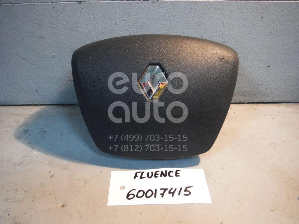 Подушка безопасности в рулевое колесо для Renault Fluence 2010> - Фото №1