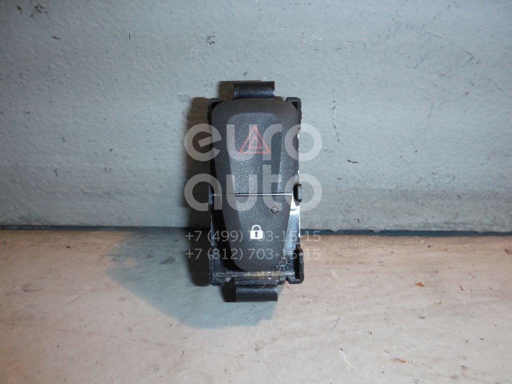 Кнопка аварийной сигнализации для Renault Fluence 2010>;Megane III 2009-2016;Scenic III 2009-2015;Logan II 2014>;Sandero 2014> - Фото №1