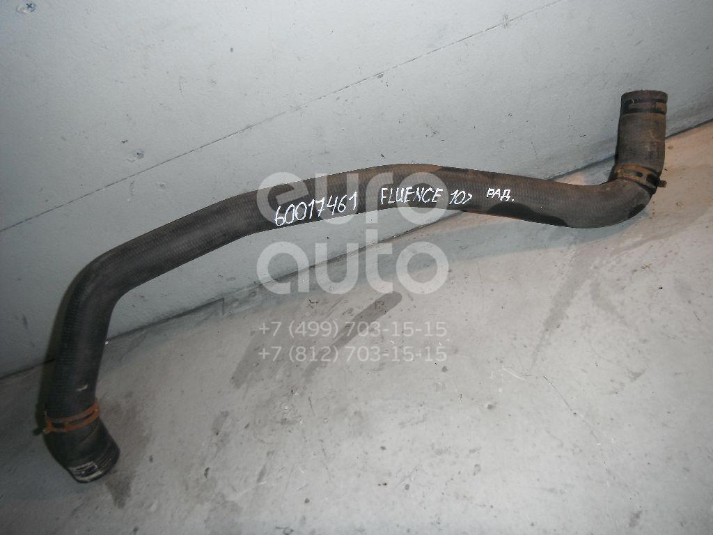Патрубок радиатора для Renault Fluence 2010> - Фото №1