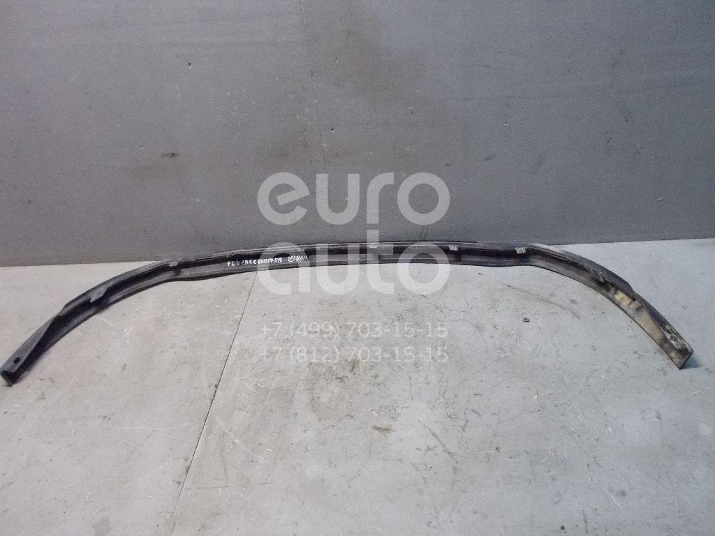 Спойлер переднего бампера для Renault Fluence 2010> - Фото №1