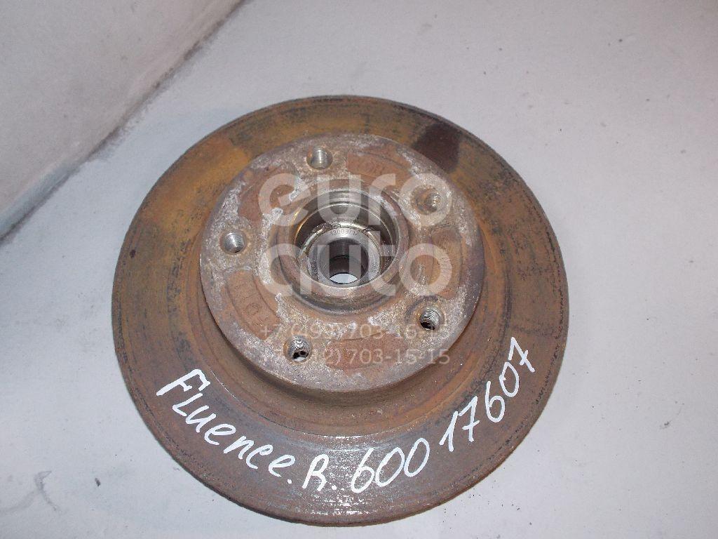 Диск тормозной задний для Renault Fluence 2010>;Megane III 2009> - Фото №1