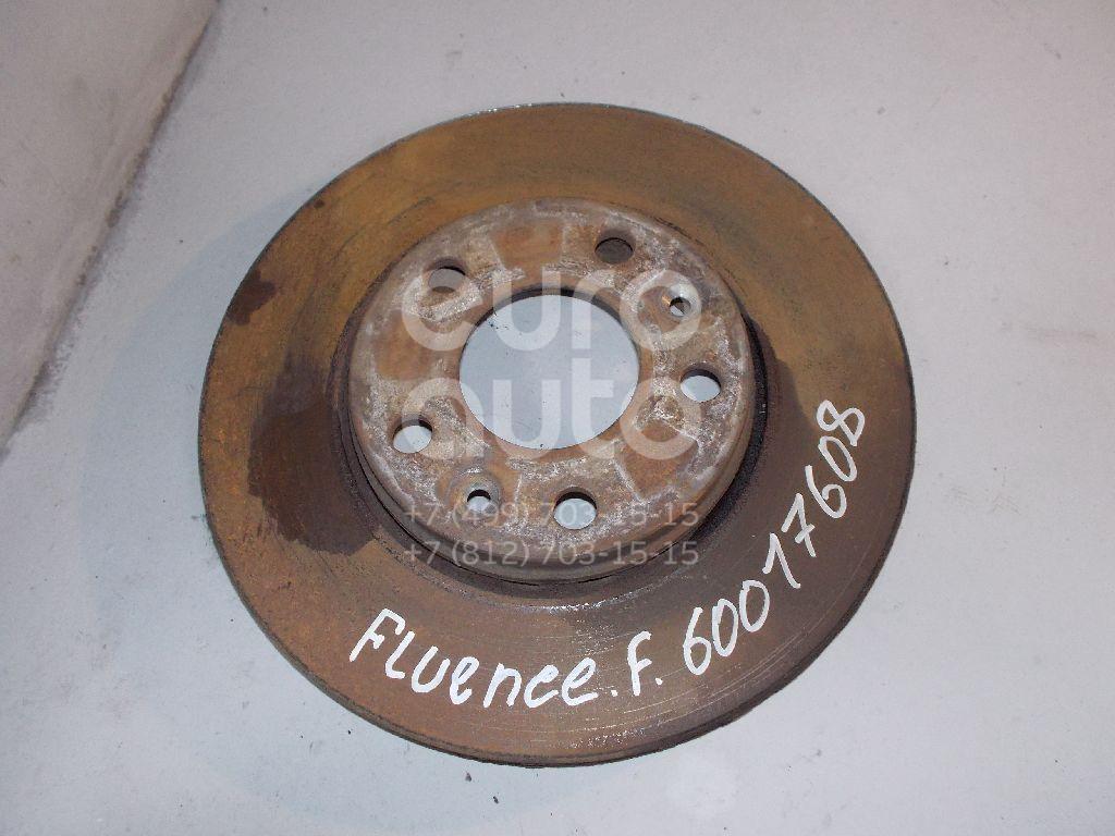 Диск тормозной передний вентилируемый для Renault Fluence 2010>;Laguna II 2001-2008;Megane III 2009>;Scenic 2009> - Фото №1