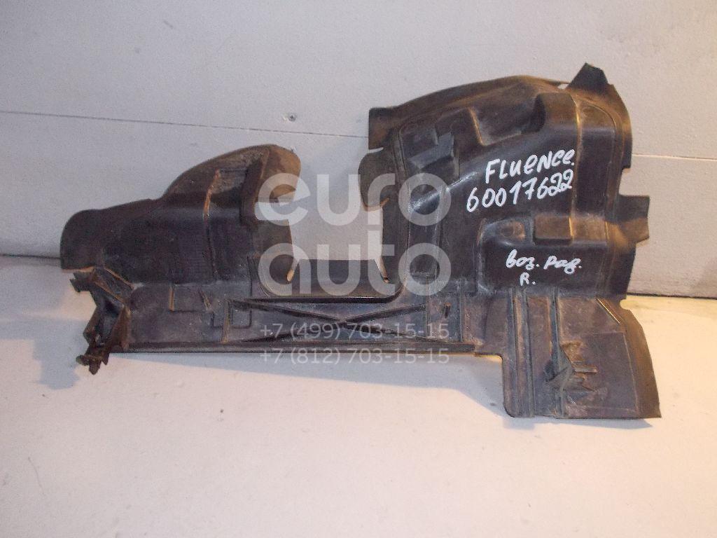 Воздуховод радиатора правый для Renault Fluence 2010> - Фото №1