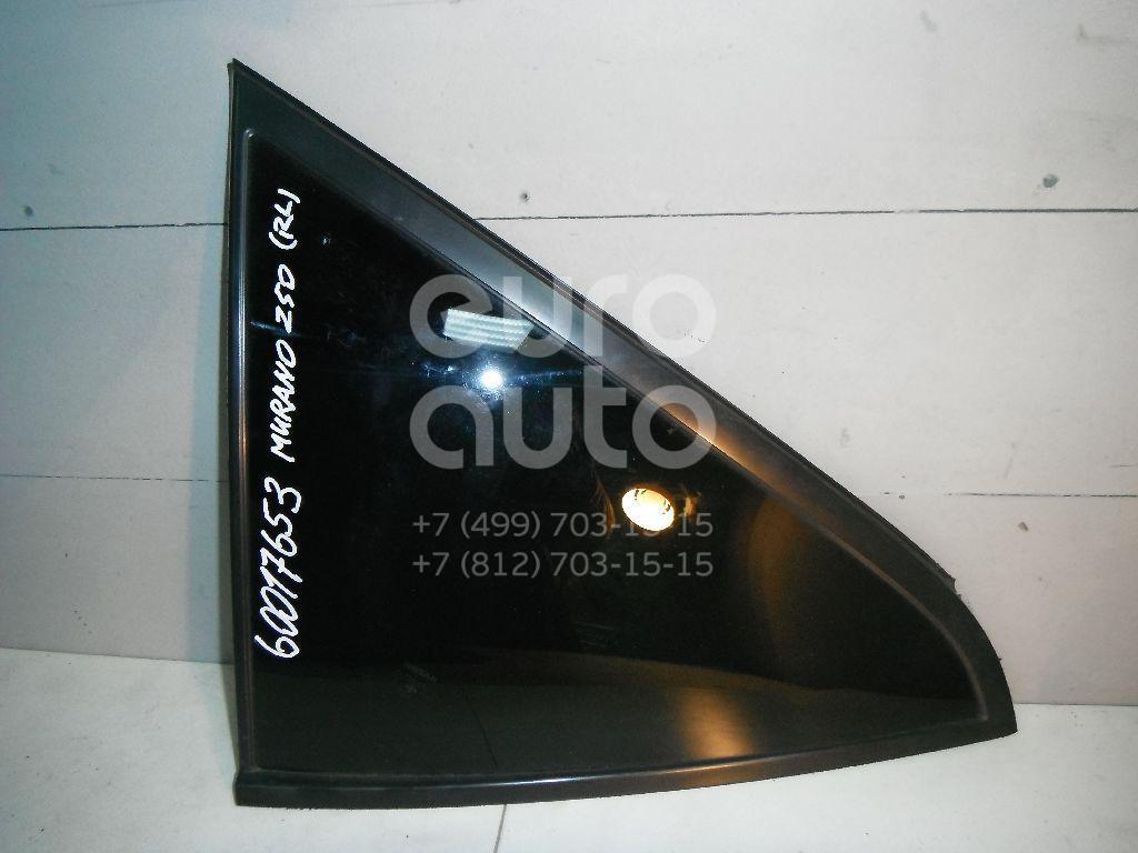 Стекло кузовное глухое левое для Nissan Murano (Z50) 2004-2008 - Фото №1
