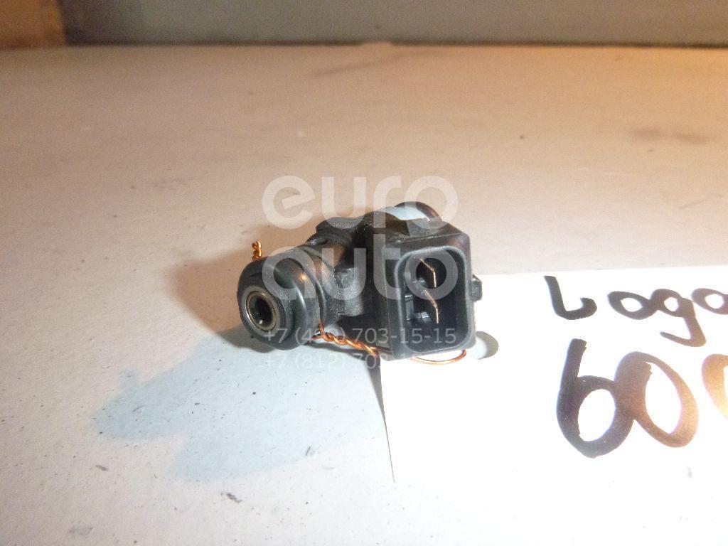 Форсунка инжекторная электрическая для Renault,VAZ Logan II 2014>;Logan 2005-2014;Sandero 2009-2014;Lada Largus 2011>;Duster 2012> - Фото №1