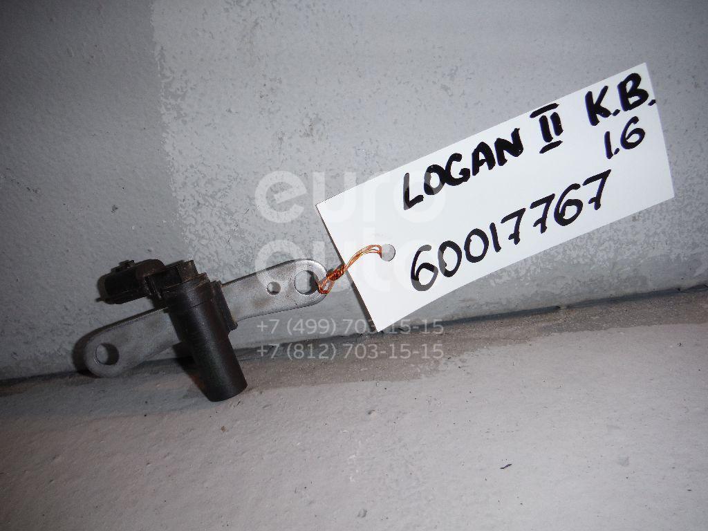 Датчик положения коленвала для Renault Logan II 2014>;Kangoo 2003-2007;Megane II 2002-2009;Scenic 2003-2009;Laguna II 2001-2008;Clio/Symbol 1998-2008;Clio III 2005-2012;Laguna III 2009>;Modus 2004>;Megane III 2009>;Scenic 2009> - Фото №1