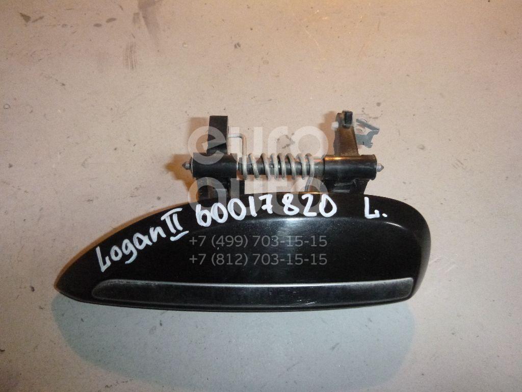 Ручка двери наружная левая для Renault Logan II 2014> - Фото №1