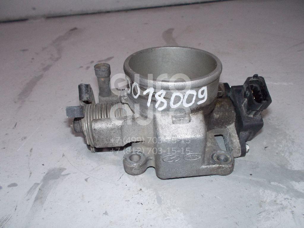 Заслонка дроссельная механическая для Hyundai Tucson 2004-2010;Elantra 2000-2005;Coupe (GK) 2002>;Sportage 2004-2010;Trajet 2000> - Фото №1