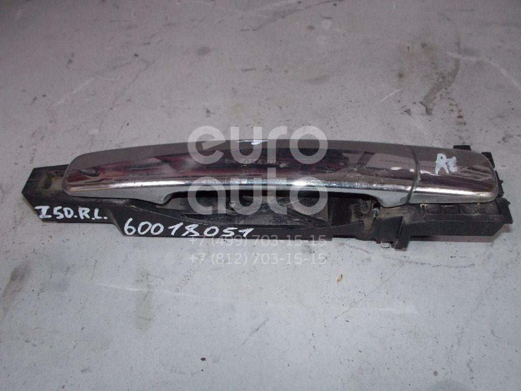 Ручка двери задней наружная левая для Nissan Murano (Z50) 2004-2008 - Фото №1
