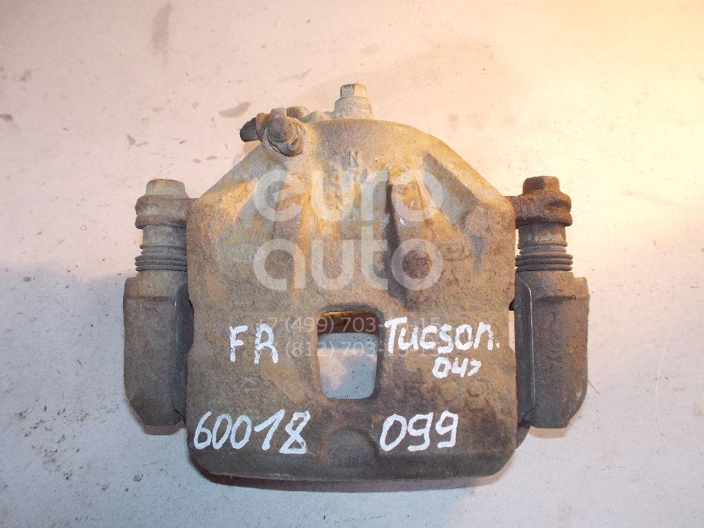 Суппорт передний правый для Hyundai Tucson 2004-2010 - Фото №1