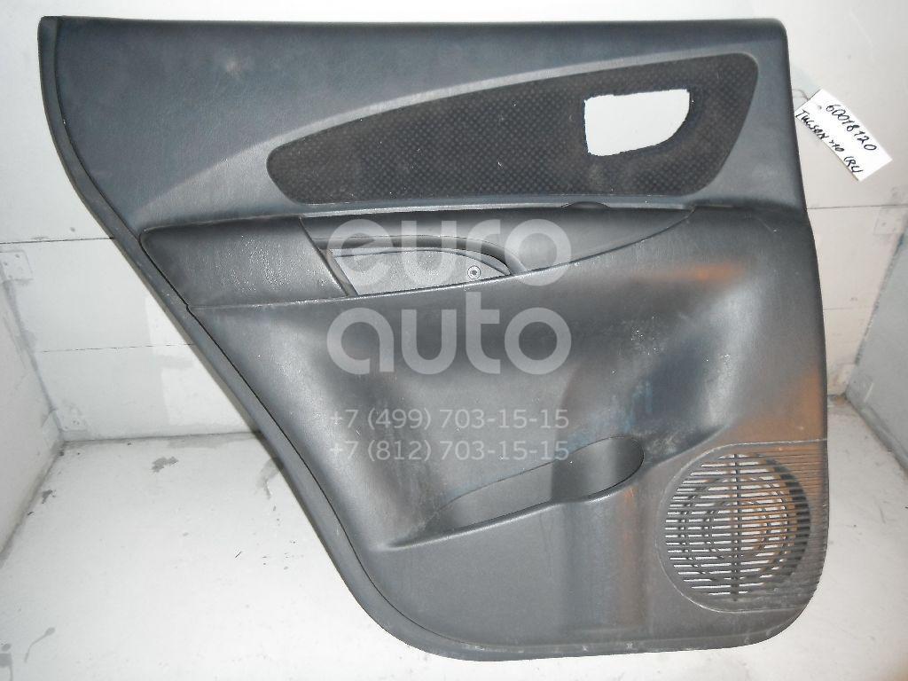 Обшивка двери задней левой для Hyundai Tucson 2004-2010 - Фото №1