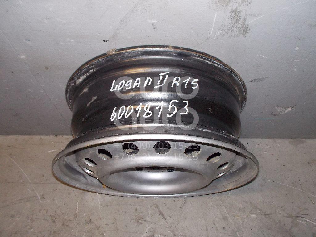 Диск колесный железо для Renault Logan II 2014> - Фото №1