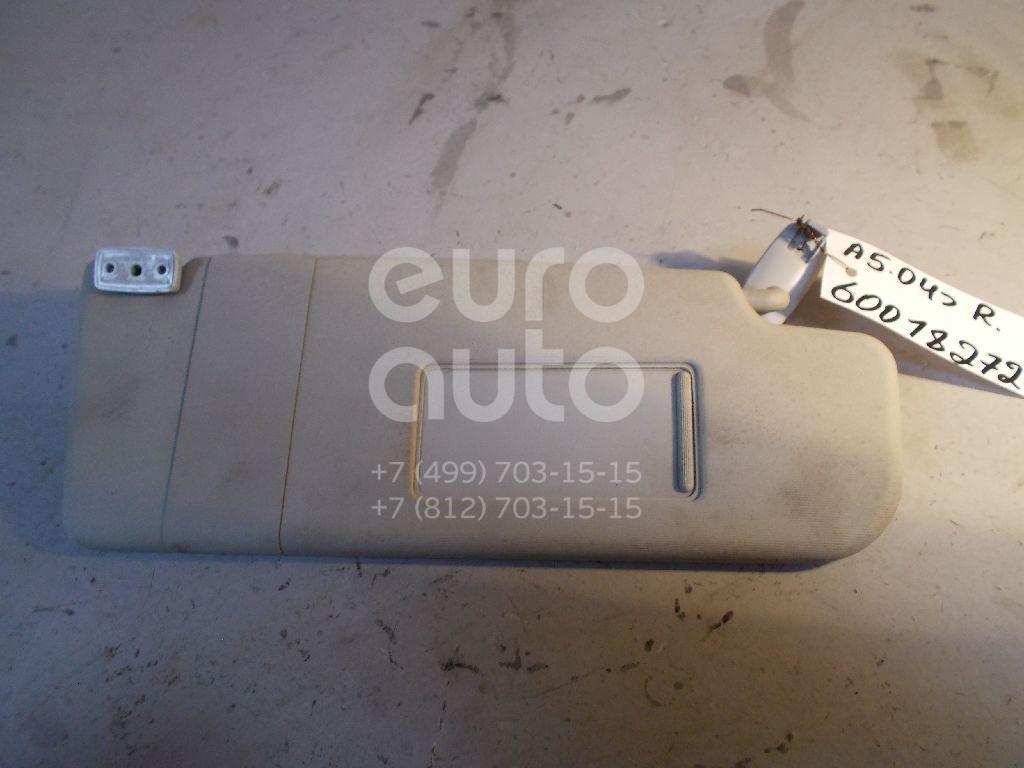 Козырек солнцезащитный (внутри) для Skoda Octavia (A5 1Z-) 2004-2013;Yeti 2009> - Фото №1