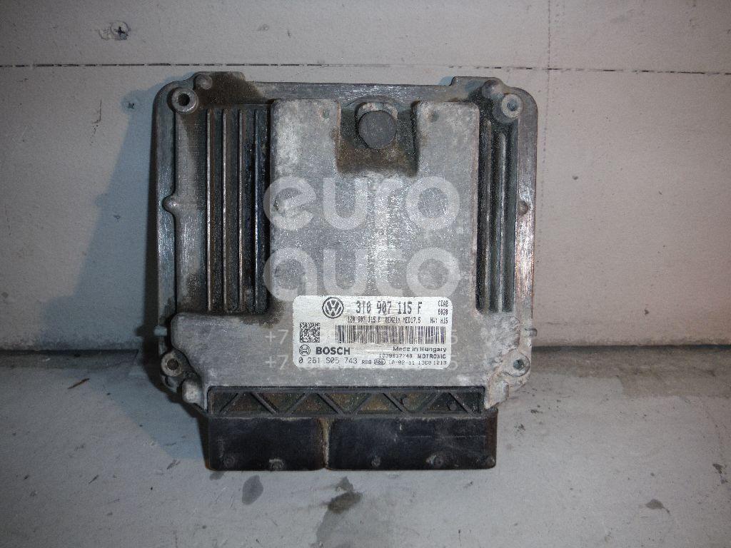 Блок управления двигателем для Skoda Octavia (A5 1Z-) 2004-2013 - Фото №1