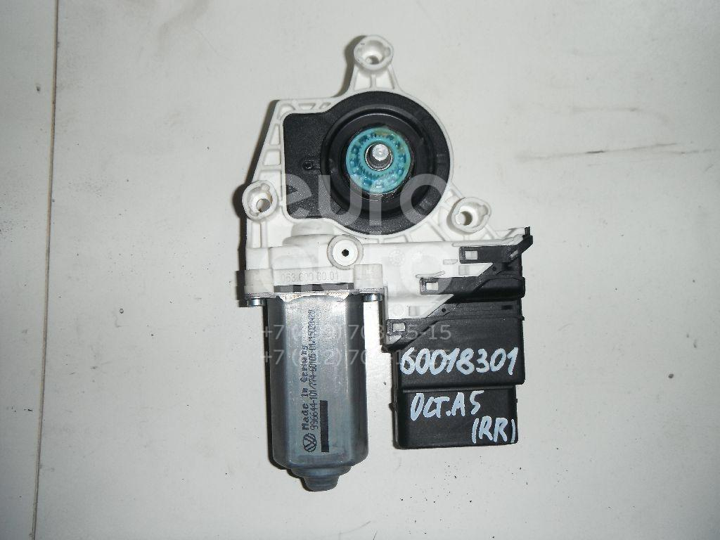 Моторчик стеклоподъемника для VW Octavia (A5 1Z-) 2004-2013;Touran 2003-2010;Touran 2010-2016 - Фото №1