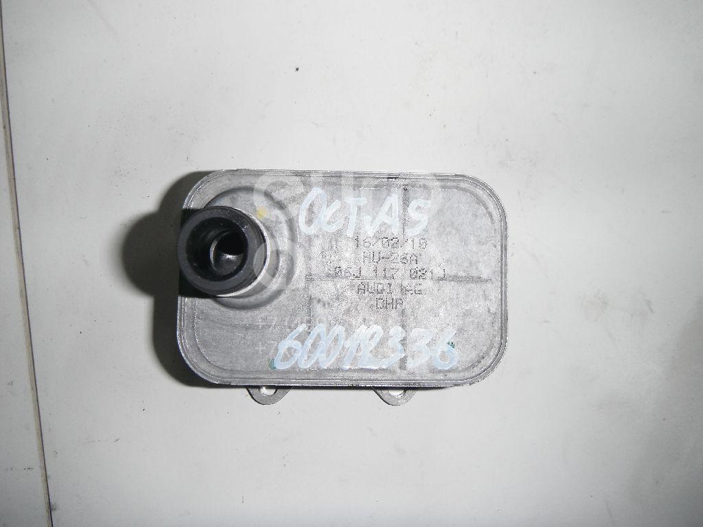 Радиатор масляный для Skoda,VW,Audi,Seat Octavia (A5 1Z-) 2004-2013;Passat [B6] 2005-2010;A3 [8P1] 2003-2013;Jetta 2006-2011;Tiguan 2007-2011;Altea 2004-2015;A5/S5 [8T] Coupe/Sportback 2008-2016;Q5 2008>;A4 [B8] 2007-2015;Superb 2008-2015 - Фото №1