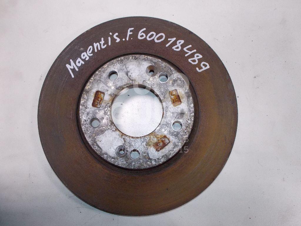 Диск тормозной передний вентилируемый для Kia Magentis 2005>;Coupe (GK) 2002>;Sonata NF# 2005>;Tucson 2004-2010;Sportage 2004-2010;Ceed 2007- 2012;Carens 2002-2006;i30 2007-2012;Soul 2009-2014;i20 2008>;Cerato 2009-2013;Carens 2006> - Фото №1
