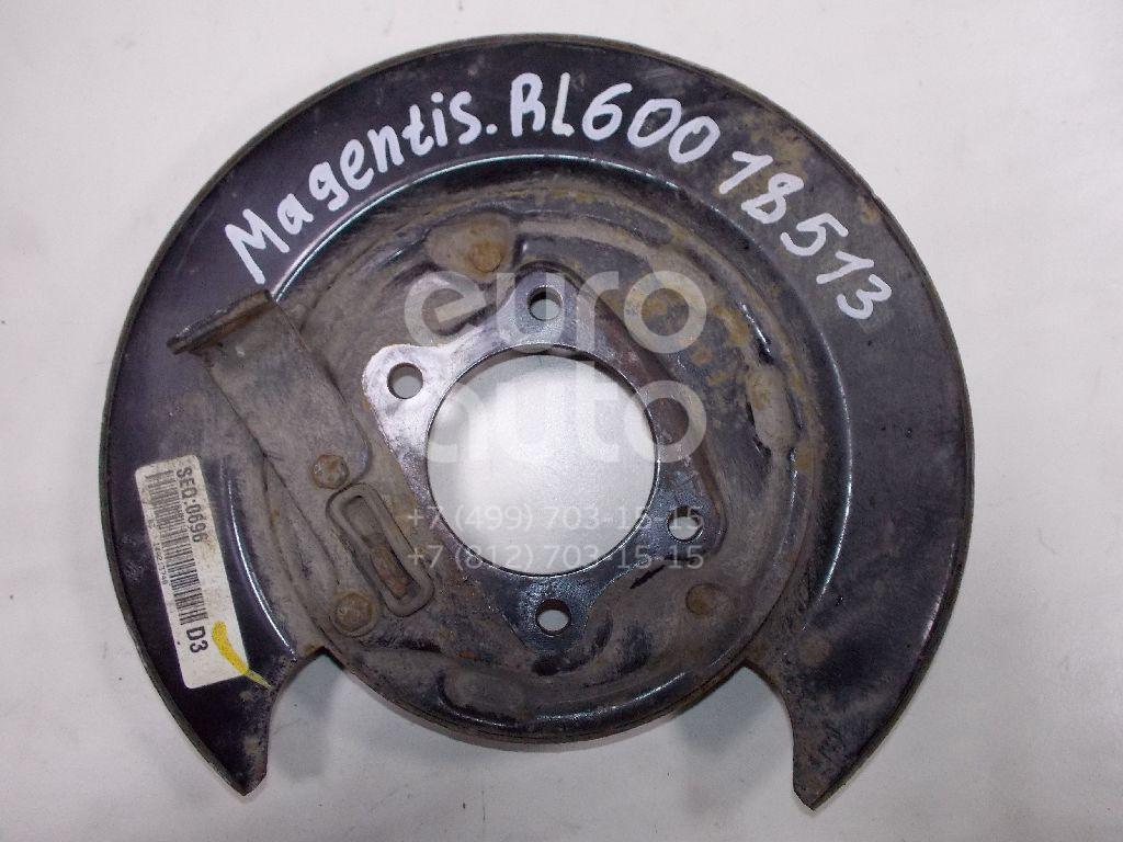Щит опорный задний левый для Kia Magentis 2005-2010 - Фото №1