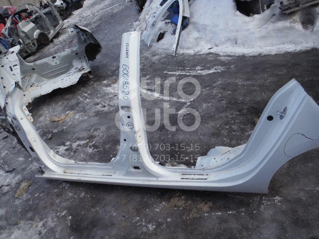 Порог со стойкой левый для Renault Fluence 2010> - Фото №1