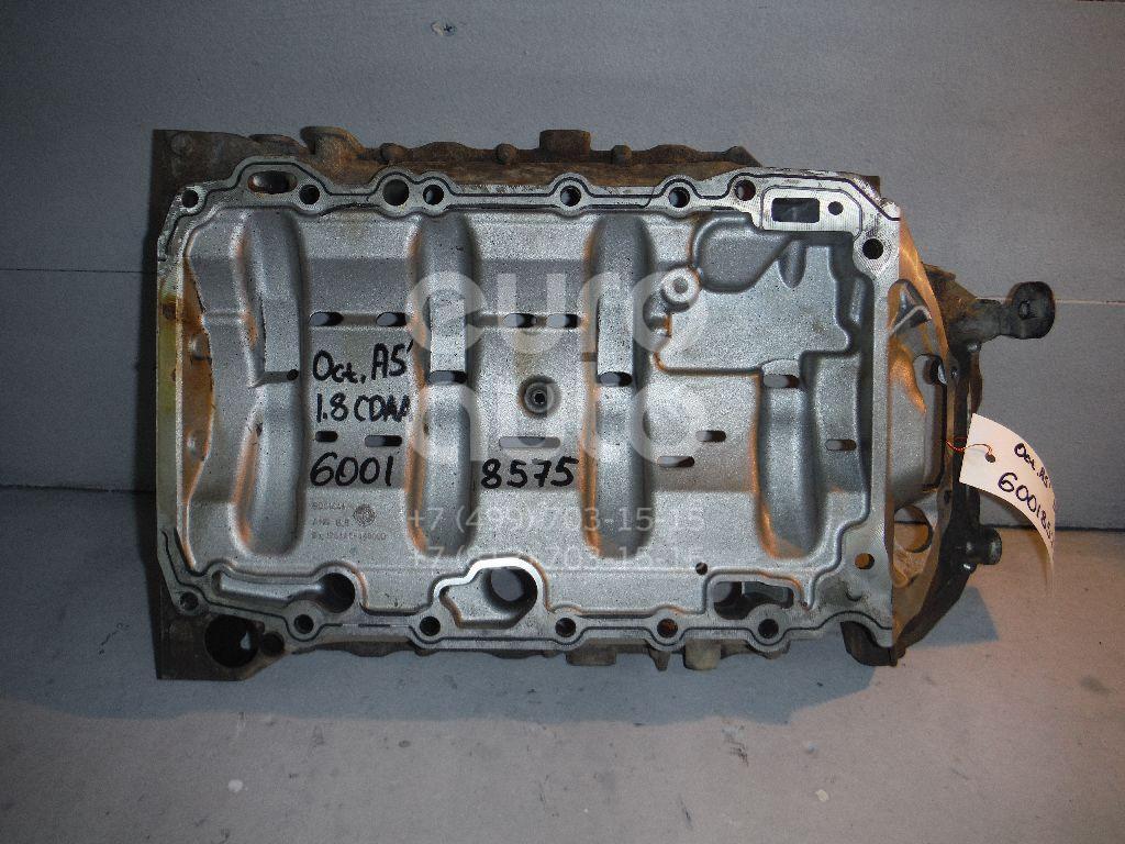 Поддон масляный двигателя для Skoda,VW Octavia (A5 1Z-) 2004-2013;Passat [B6] 2005-2010;Jetta 2006-2011;Tiguan 2007-2011;Superb 2008-2015;Passat CC 2008>;Golf VI 2009-2012;Scirocco 2008> - Фото №1