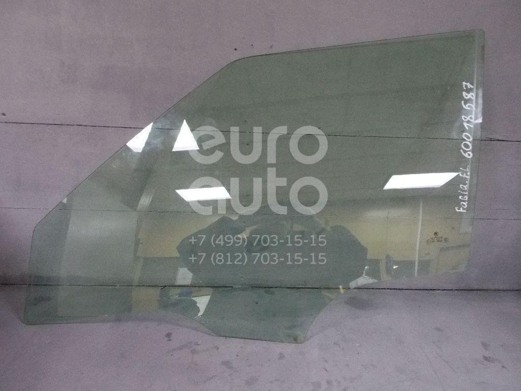 Стекло двери передней левой для Skoda Fabia 2007-2015 - Фото №1