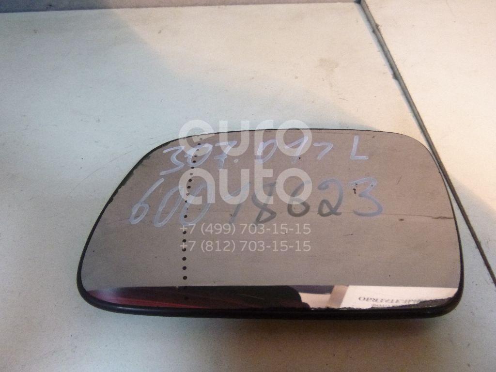 Стекло зеркала электрического левого для Peugeot 307 2001-2007 - Фото №1