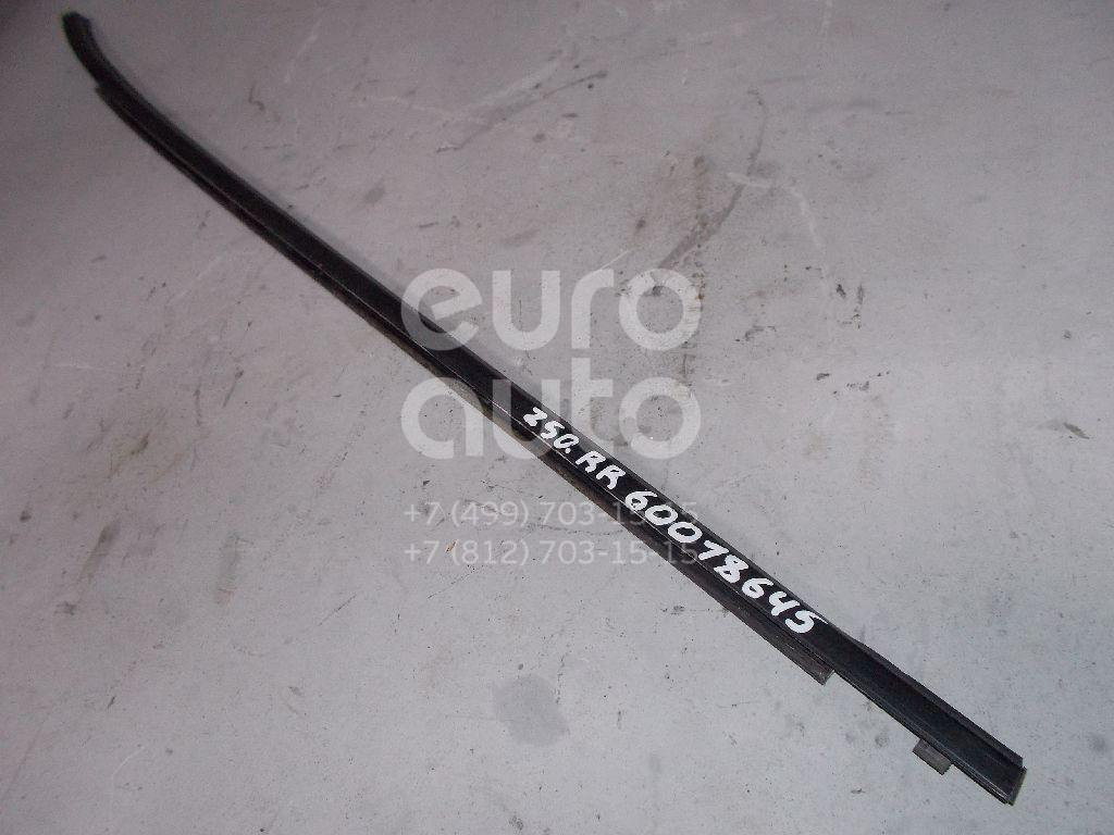 Накладка стекла заднего правого для Nissan Murano (Z50) 2004-2008 - Фото №1