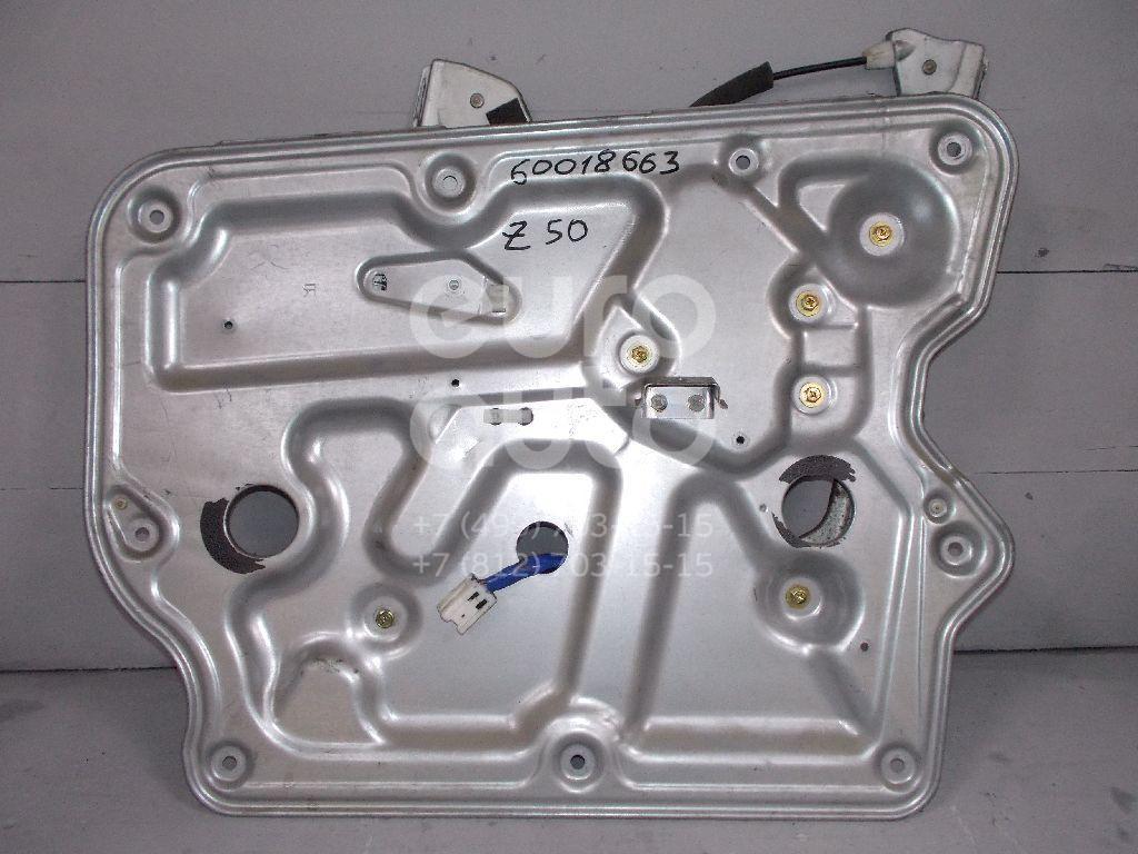 Стеклоподъемник электр. передний правый для Nissan Murano (Z50) 2004-2008 - Фото №1