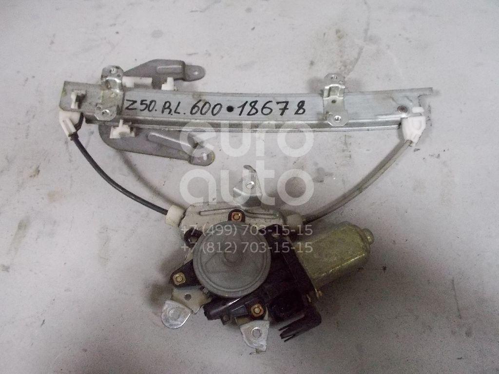 Стеклоподъемник электр. задний левый для Nissan Murano (Z50) 2004-2008 - Фото №1