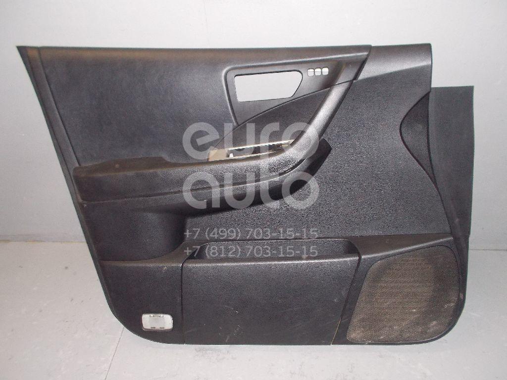 Обшивка двери передней левой для Nissan Murano (Z50) 2004-2008 - Фото №1