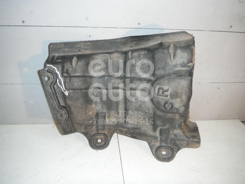 Пыльник двигателя боковой правый для Nissan Murano (Z50) 2004-2008 - Фото №1