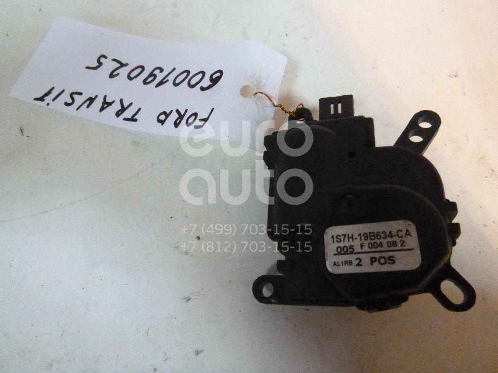 Моторчик заслонки отопителя для Ford Transit Connect 2002>;Focus II 2005-2008;Fusion 2002>;C-MAX 2003-2011;Mondeo III 2000-2007;Fiesta 2001-2007;Mondeo IV 2007-2015;X-TYPE 2001-2009;Focus II 2008-2011 - Фото №1