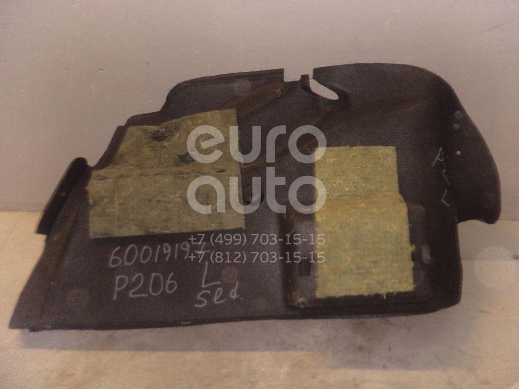 Обшивка багажника для Peugeot 206 1998-2012 - Фото №1