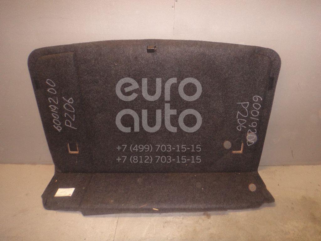 Пол багажника для Peugeot 206 1998-2012 - Фото №1