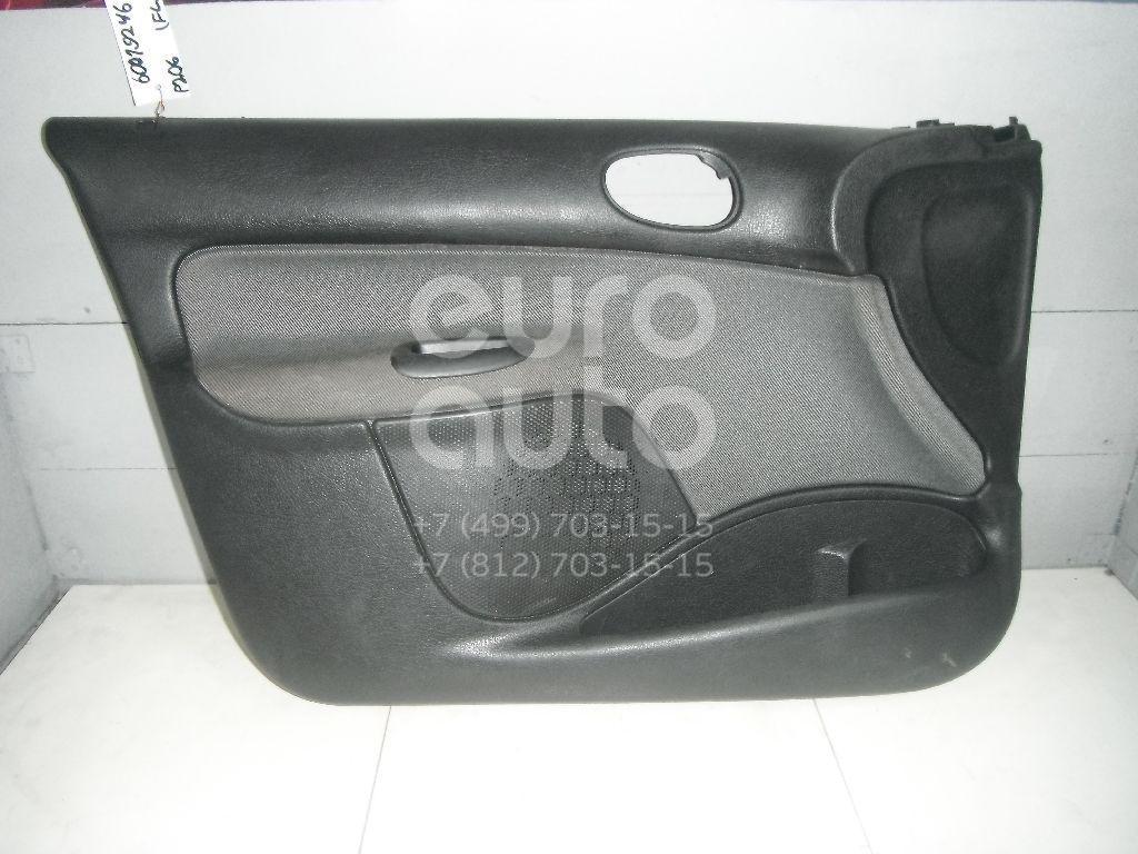 Обшивка двери передней левой для Peugeot 206 1998-2012 - Фото №1