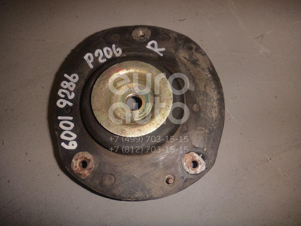 Опора переднего амортизатора правая для Peugeot 206 1998-2012 - Фото №1