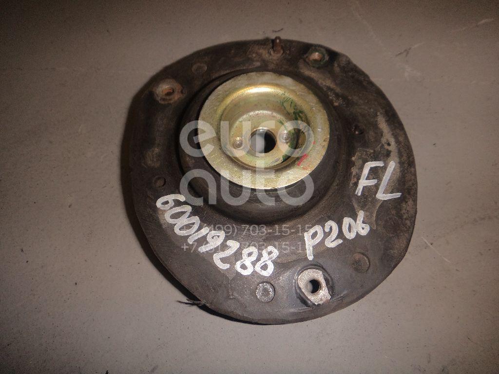 Опора переднего амортизатора левая для Peugeot,Citroen 206 1998-2012;C2 2003-2008 - Фото №1