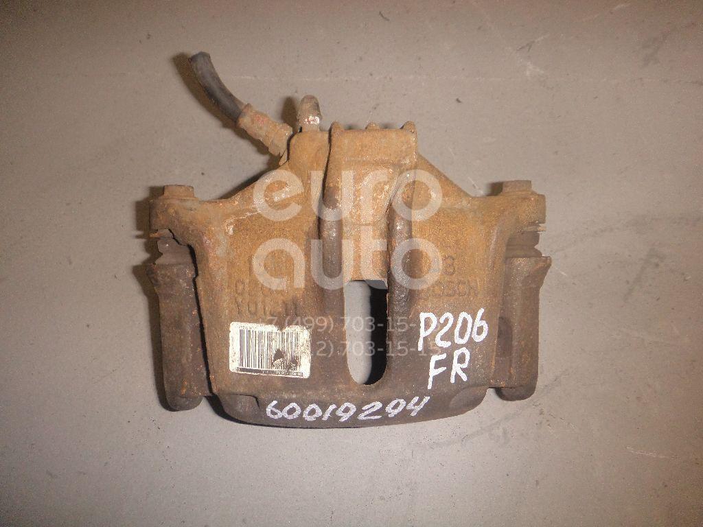Суппорт передний правый для Peugeot 206 1998-2012 - Фото №1