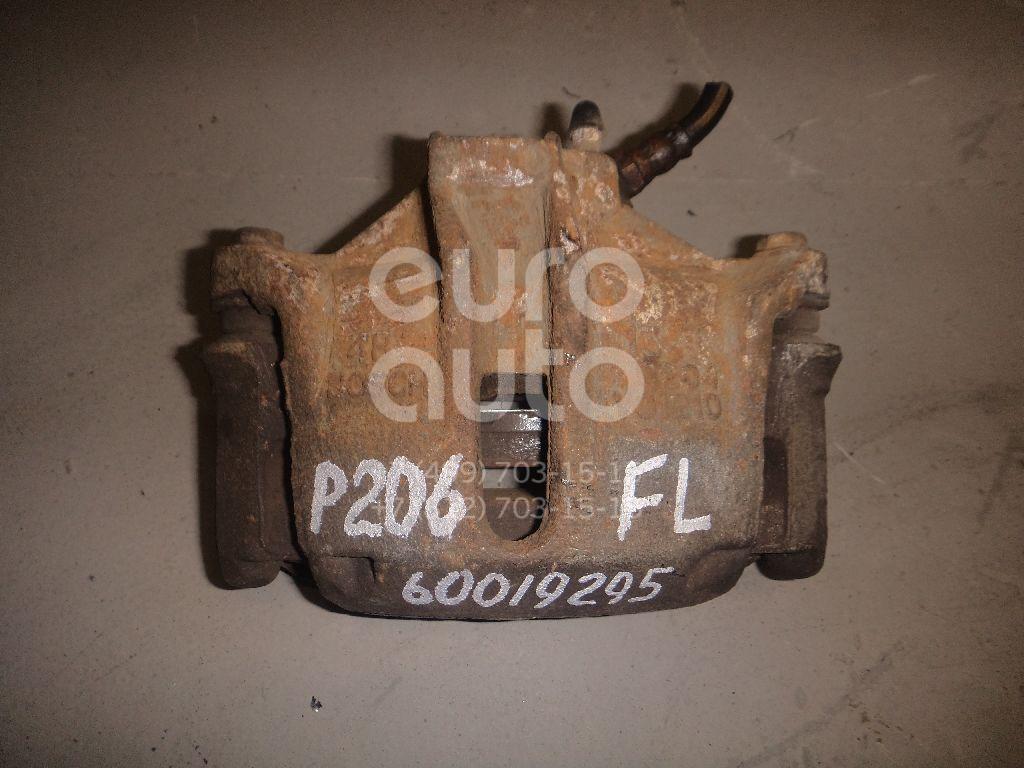 Суппорт передний левый для Peugeot 206 1998> - Фото №1