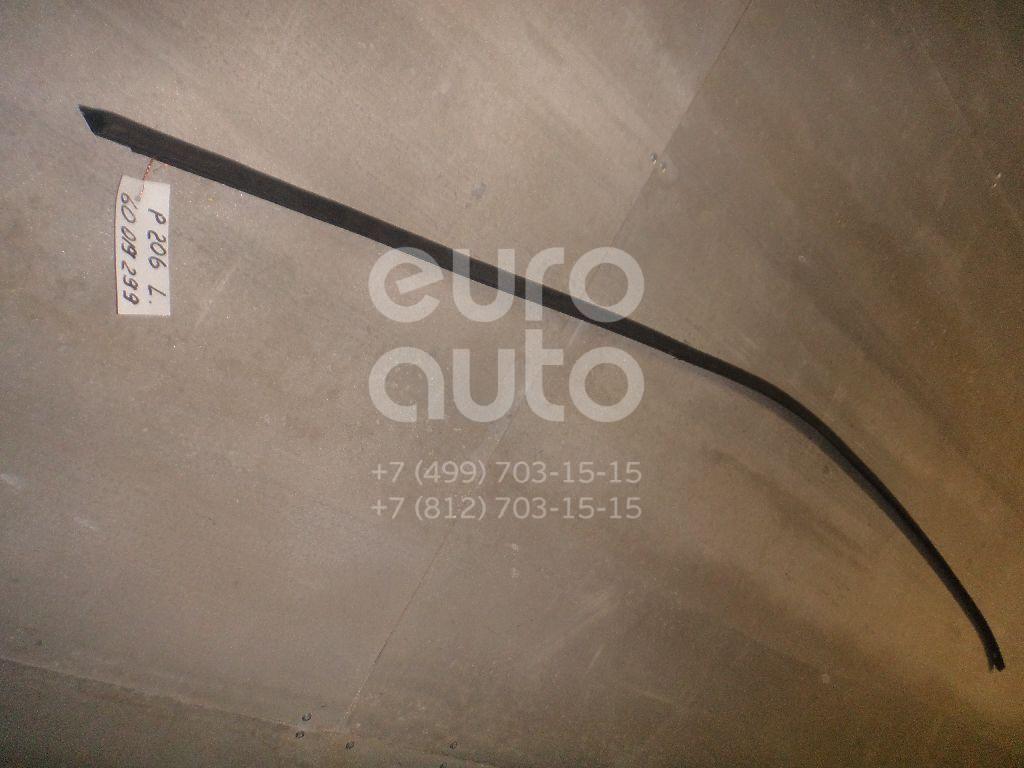 Молдинг крыши левый для Peugeot 206 1998-2012 - Фото №1