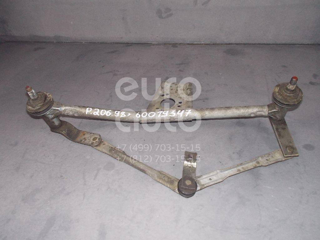 Трапеция стеклоочистителей для Peugeot 206 1998-2012 - Фото №1