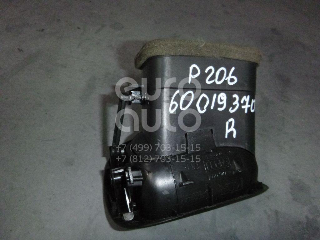 Дефлектор воздушный для Peugeot 206 1998-2012 - Фото №1