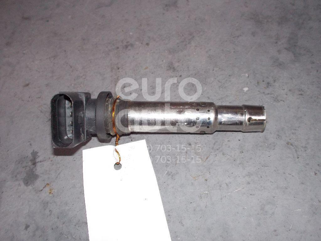 Катушка зажигания для Skoda,Audi,Seat,VW Fabia 2007-2015;A2 [8Z0] 2000-2005;Octavia (A4 1U-) 2000-2011;Leon (1M1) 1999-2006;Toledo II 1999-2006;Golf IV/Bora 1997-2005;New Beetle 1998-2010;Lupo 1998-2005;A3 [8PA] Sportback 2004-2013 - Фото №1