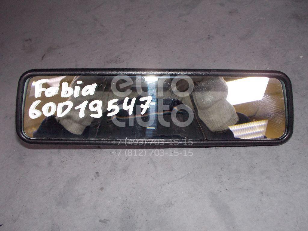 Зеркало заднего вида для Skoda,VW Fabia 2007-2015;Octavia (A4 1U-) 2000-2011;Octavia 1997-2000;Caddy III 2004-2015;Golf V Plus 2005-2014;Polo 2001-2009;Transporter T5 2003-2015;Octavia (A5 1Z-) 2004-2013;Roomster 2006-2015;EOS 2006>;Jetta 2011> - Фото №1
