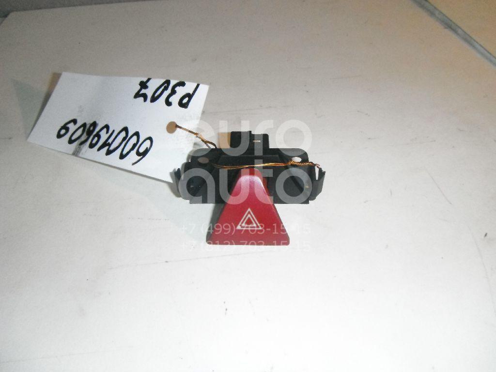 Кнопка аварийной сигнализации для Peugeot 307 2001-2007 - Фото №1