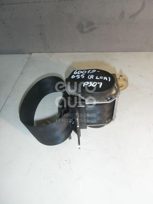 Ремень безопасности для Peugeot,Citroen 307 2001-2007;C4 2005-2011 - Фото №1